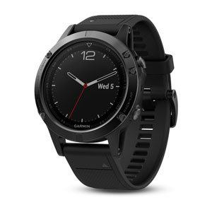 fenix 5 - Black Sapphire with Black Band