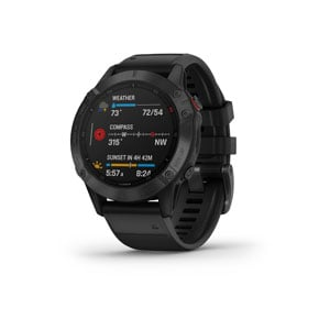 fenix 6 Pro - Black with Black Band