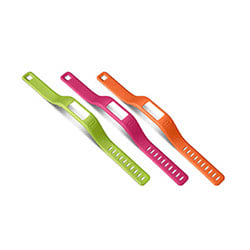 Garmin Small Bands Orange Pink Green