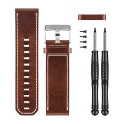Garmin Premium Brown Leather Band