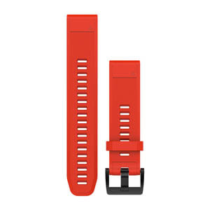 Quickfit 22mm Flame Red Band