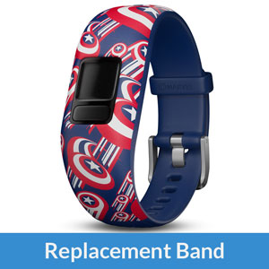 Garmin Marvel Captain America (Adjustable) Band for vivofit jr.