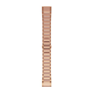 QuickFit 20mm Rose Gold Stainless Steel Band (fenix 5S Plus)