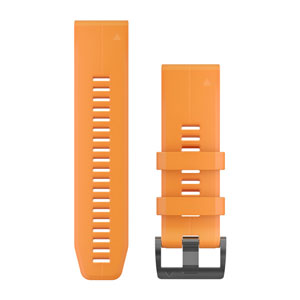 QuickFit 26mm 'Solar Flare' Silicone Band (fenix 5X Plus)