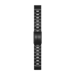 QuickFit 22mm - Vented Titanium Bracelet with Carbon Grey DLC Coating
