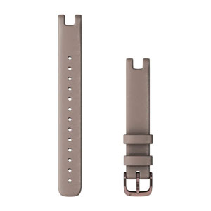 Garmin Lily Band (14mm) - Paloma Italian Leather with Dark Bronze Hardware