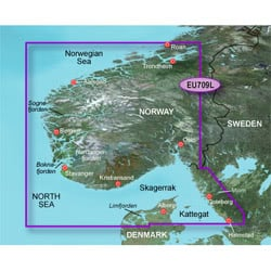 Garmin BlueChart g3 MicroSD South Norway