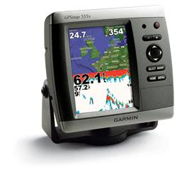Garmin GPSMAP 555S Sounder with AU Charts (010-00609-00) on