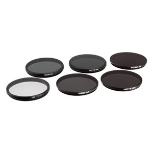 Zenmuse X5S Filter 6-Pack