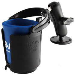 RAM Cup Holder with Mount Plates