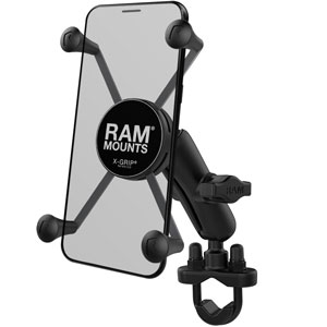 RAM X-Grip Large Phone Mount with Handlebar U-Bolt Base