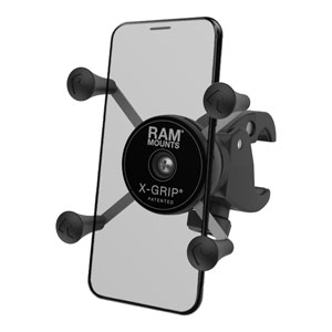 RAM X-Grip Phone Mount with Low-Profile RAM Tough-Claw