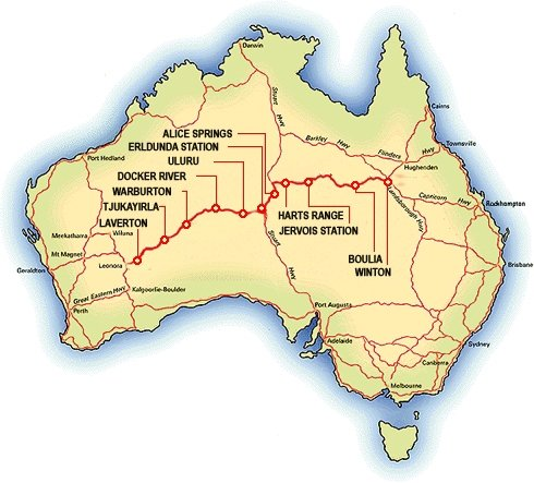 Where Is The Outback In Australia On A Map.Outback Wayfinder Geocache Trail