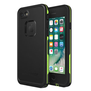 LifeProof fre iPhone 7/8 Case Night Lite (Black/Green)