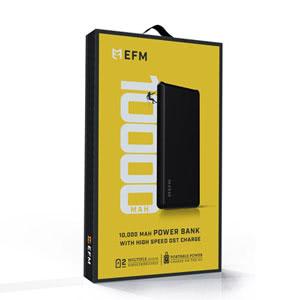 10000mAh EFM Armour Power Bank