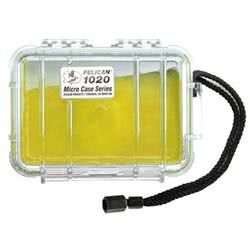 Pelican 1020 Yellow Clear Lid