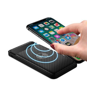 Portable Qi Charger Black