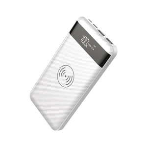 Portable Qi Charger White