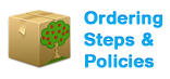 Ordering Steps and Policies